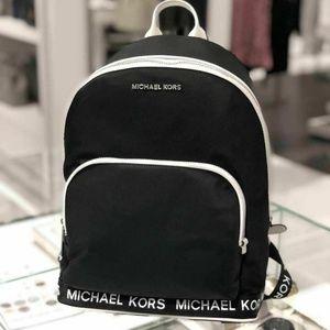 Michael Kors Sport Connie Nylon Backpack Black